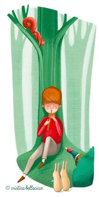 BloG Cristina Bellacicco: Il giardino segreto #secret #garden #illustration