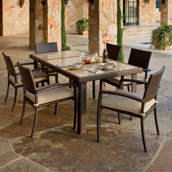 costco portofino signature 7piece patio dining set