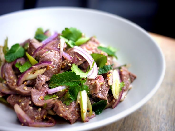 foodfanatics asiatiske salatfavorit