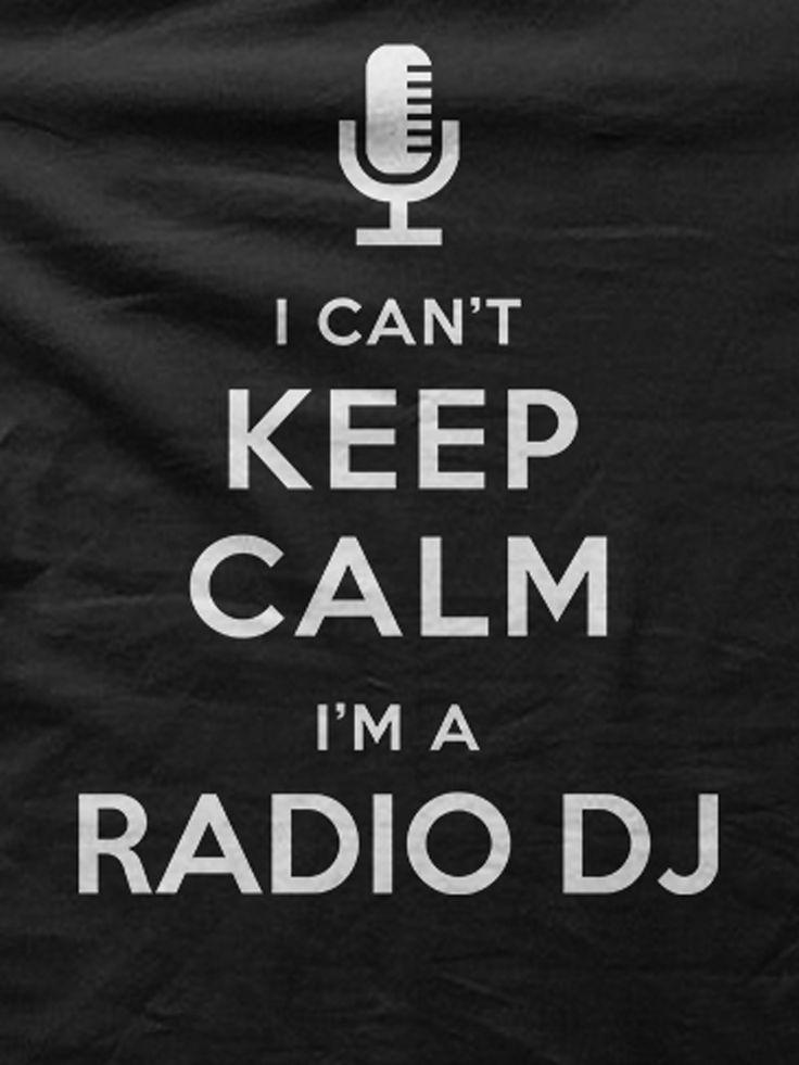 Im Radio DJ Awesome t-shirt for Radio DJ.