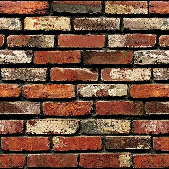 Brick Peel And Stick Wallpaper