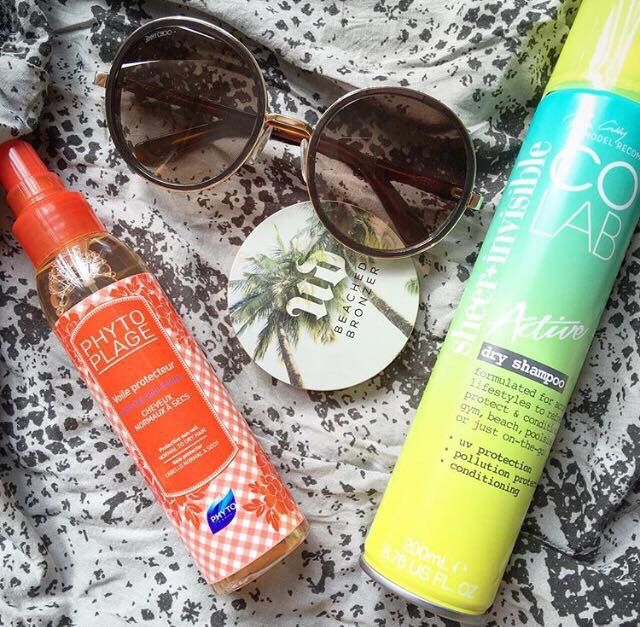 #Regram from A Model Recommends Summer in the City ☀️ 💋☀️ #COLABActive with Pollution & UV Protection, Looking fresh! 👌  Available Superdrug feelunique.com BeautyMart UK