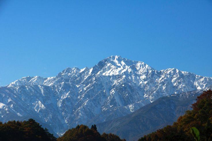 信州_白馬の山々