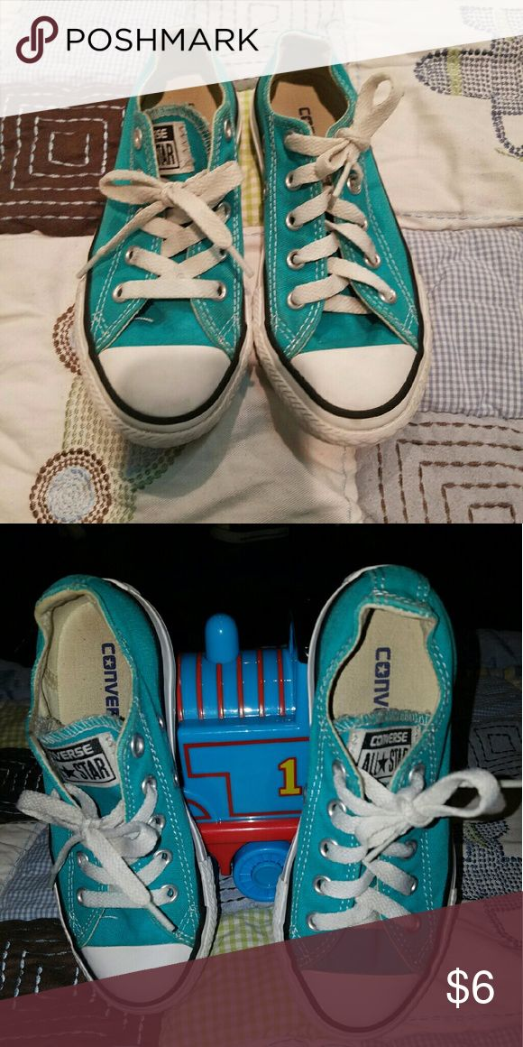 Shoes Turquoise Converse Converse Shoes Sneakers