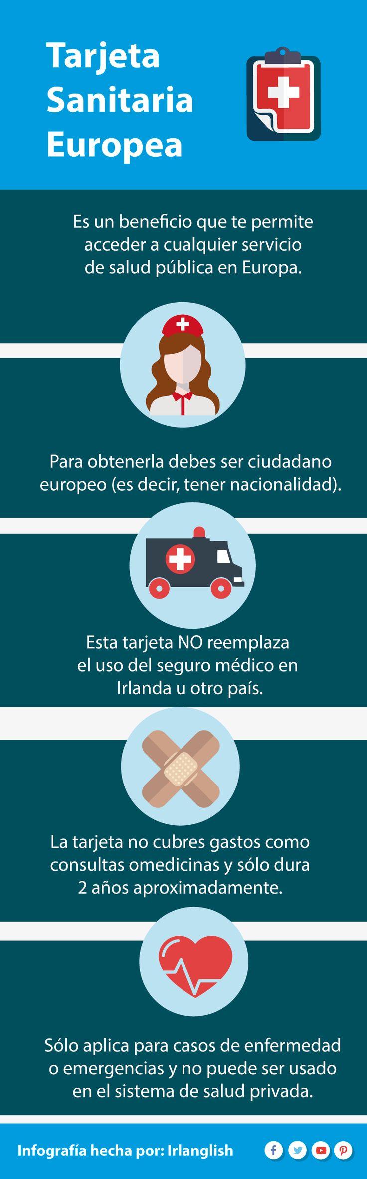 #tarjeta sanitaria #europea y para que puede servirte en #Irlanda