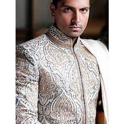 Perfect Wedding Sherwani Dress By Junaid Jamshed USA. Discover The Latest Men's Sherwani Clothing Achkan For Men Wide Range Of Pakistani Sherwani Dresses at Needlehole