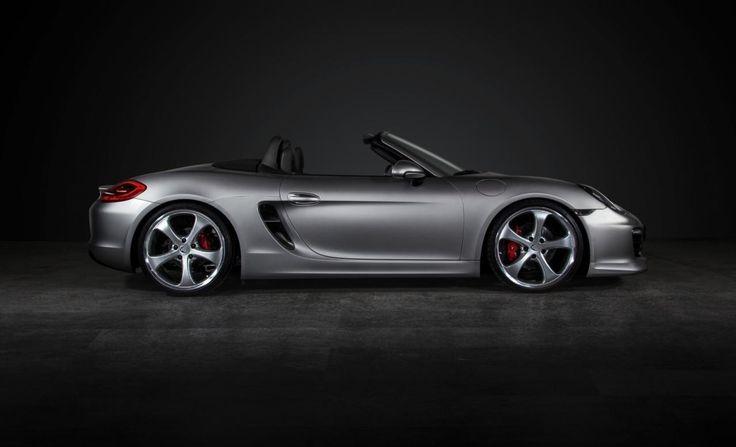 Porsche Boxster Techart : ça commence