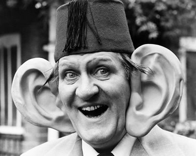 Hero. Tommy Cooper. A brilliant magician that made it look like it went wrong even when it was going right.