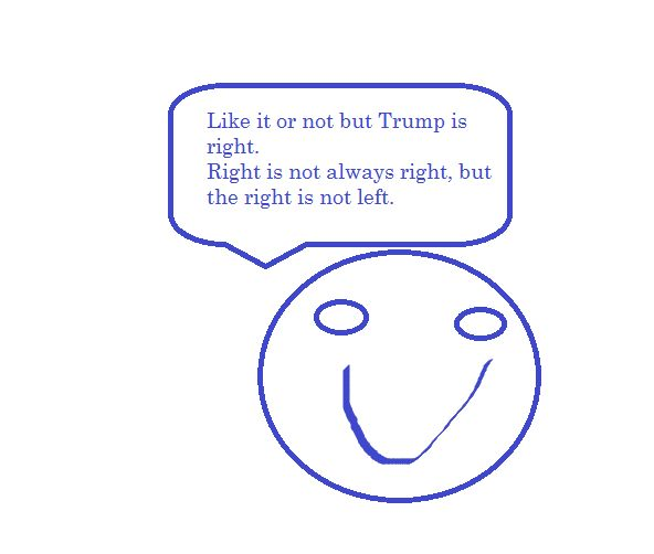 Trump is right! by Henke76 on DeviantArt