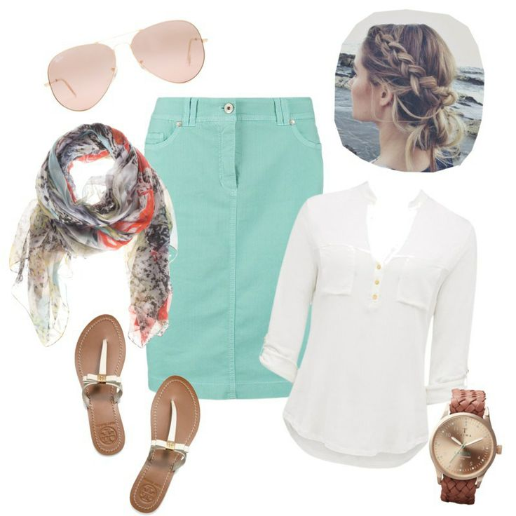Summer Casual, modest outfit
