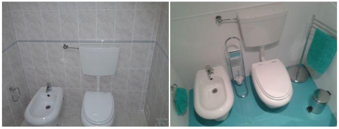 Sem medo de banheiro feio: tinta epóxi nele!