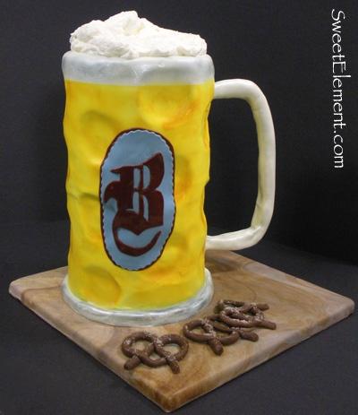 glass beer cake  食べてみたい!