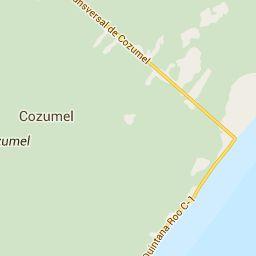 Mapa de Cozumel. Vista satelital e información de Cozumel. La mejor información en Viajeros.com!