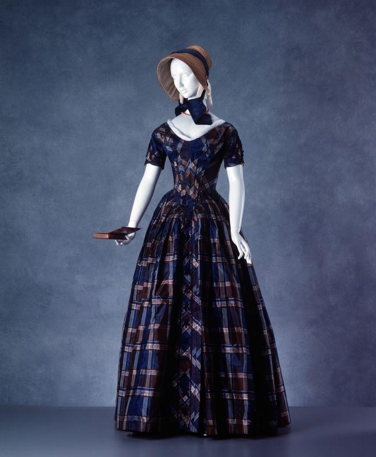 1840-1850 Colonial Australian day dress