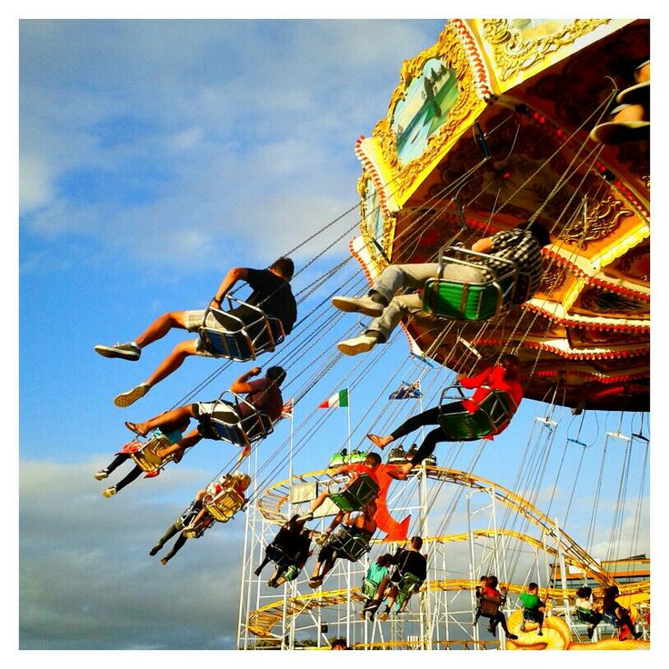 Merry go round and round and round… Royal Easter Show, Olympic Park, Sydney