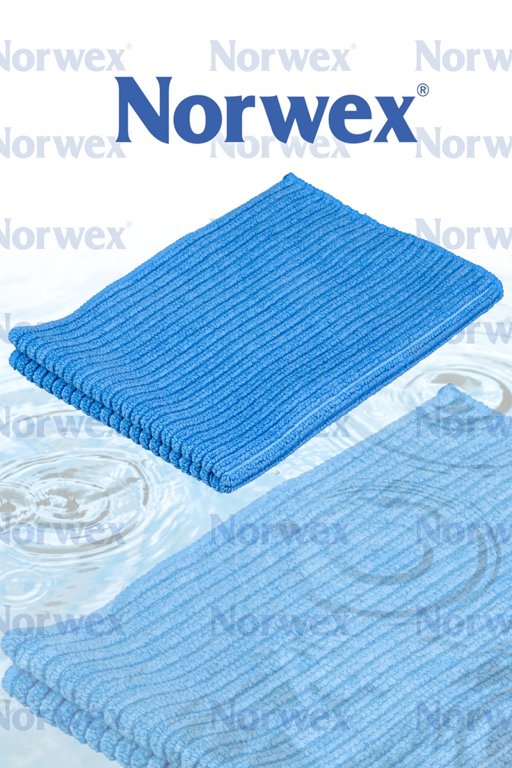 Norwex antibacterial Blue #Kitchen Cloth is absorbent and fast drying.  It is  fantastic for wiping kitchen counters, table tops, stove tops, cleaning the fridge, and kitchen spills.  Available for individual purchase in salmon or blue. Also available in the Tea Towel Set.  * Not recommended for washing dishes.  For WASHING dishes we recommend the Norwex #Dish Cloth.  Rinse well under running water after use and hang to dry.  Using soap may cause odors.
