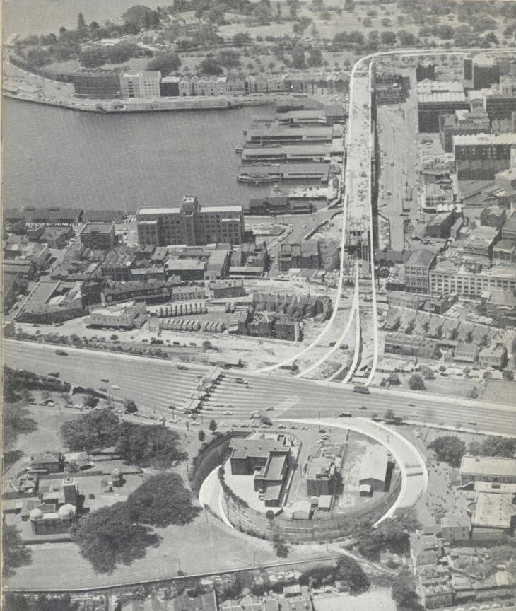 Cahill Expressway 1957