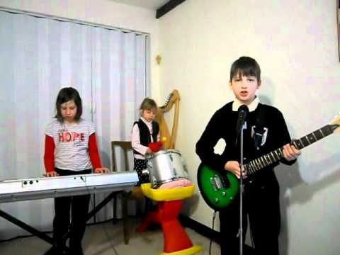 Rammstein Sonne (cover) - Children Medieval Band.  Most impressive is the 4yold drummer!