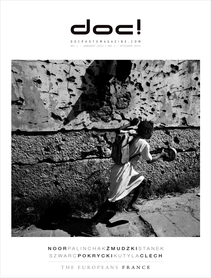 Cover of doc! photo magazine #7.  Cover photo: Francesco Zizola (NOOR)