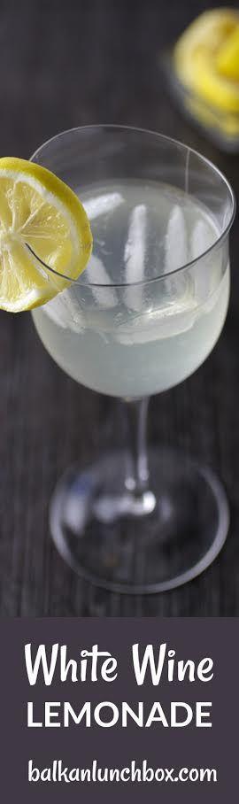 white wine lemonade recipe | lemonade recipe | alcohol lemonade | white wine | white wine | wine beverage | beverages | alcoholic beverages | refreshing lemonade | wine lemonade | lemonade | lemons | when life gives you lemons make a lemonade with wine | limnuada sa bijelim vinom | limunada od bijelog vina | bijelo vino | limunada | recept za limunadu |
