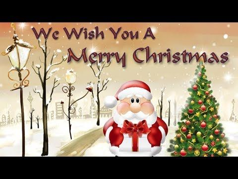 We Wish You A Merry Christmas - Christmas Carols - Popular Christmas Songs For Children - YouTube