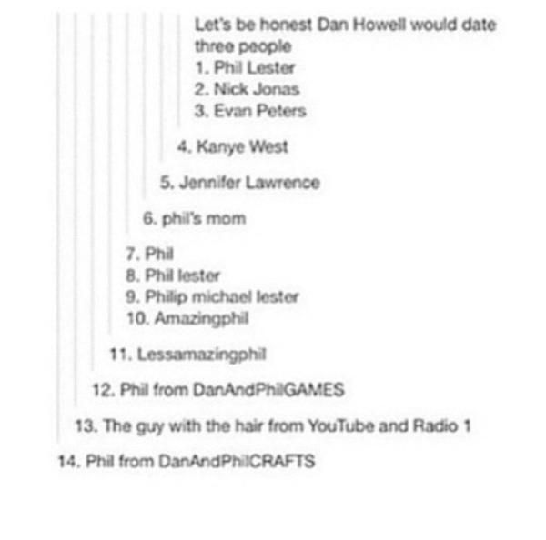 I hear the guy who invented the tumblr tag is dating Dan...and the guy who invented the 7 second challenge