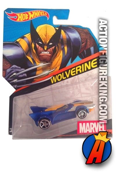 X-Men Wolverine die-cast car from Hot Wheels. See full details and easily search through thousands of new and vintage collectibles here…http://actionfigureking.com/list-3/hot-wheels/2015-hot-wheels-wolverine-die-cast-vehicle