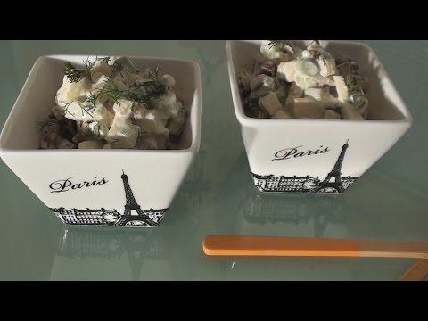 Сыроедческий салат Оливье. Raw. Vegan. - YouTube