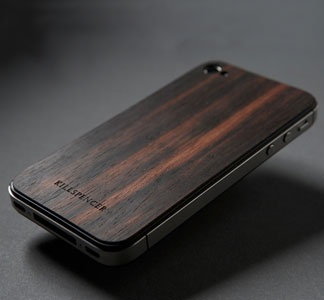 Macassar Ebony iphone case