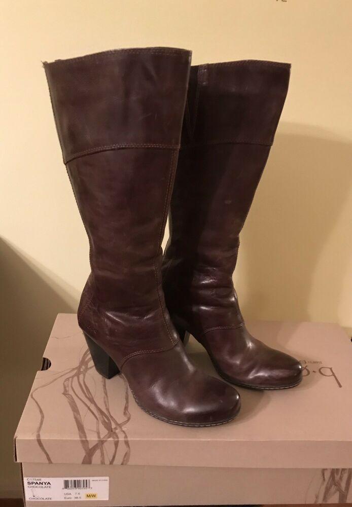 ede9ae723a1 Born Spanya Boots Chocolate Size 7.5 M/W Hardly Worn #fashion ...