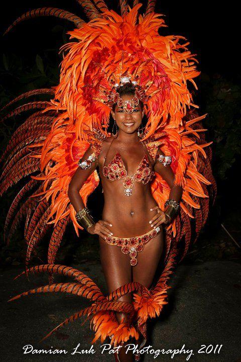 YUMA Trinidad Carnival Costume  Spawn Front Line