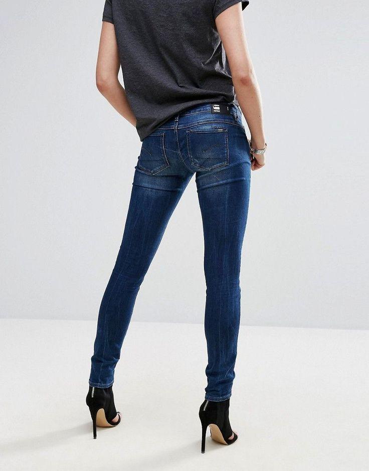 G-Star BE RAW Skinny Jeans - Blue