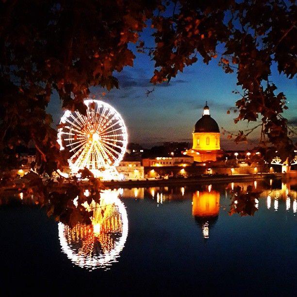 Toulouse et sa chaleure humaine, vivante...