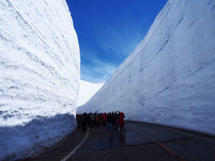 ゴールデンウィーク立山・雪の大谷ウォークと雄山 北アルプス登山ルートガイド。Japan Alps mountain climbing route guide