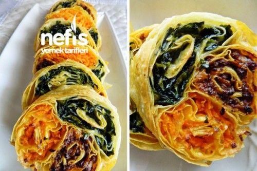 Üç Renkli Börek Nasıl Yapılır? 1