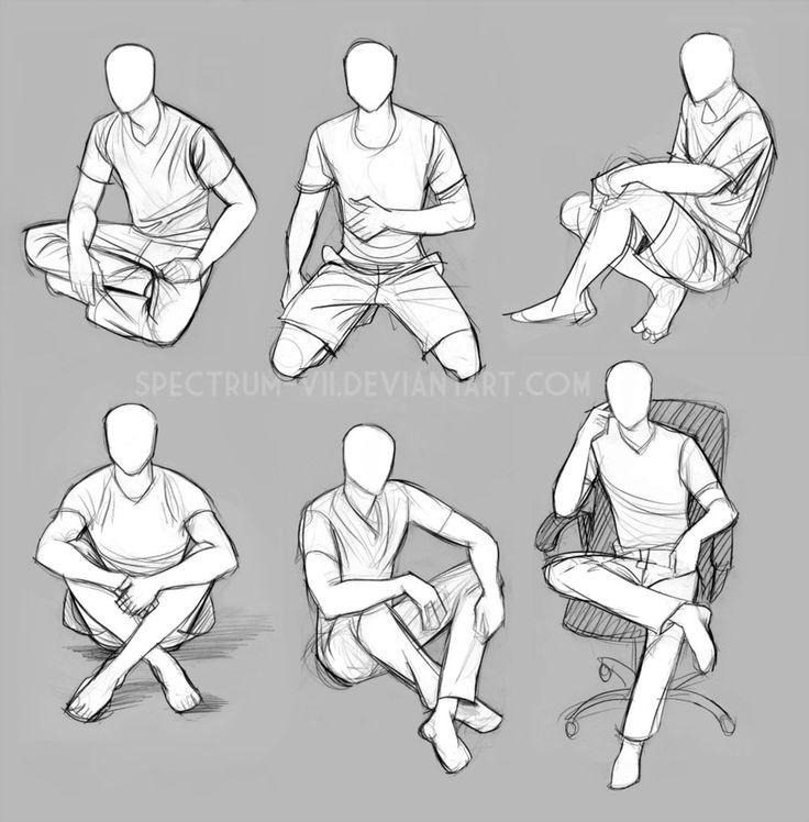 Getting some practice with posework, starting with sitting/kneeling (studied from life). Holding a steady pose, stabilizing a clipboard, and drawing all at once is kind of a challenge, but hey-- go...