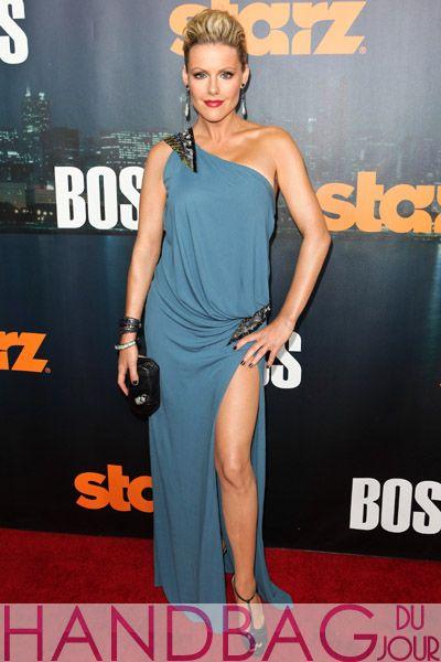 Actress Kathleen Robertson Starz Series Boss Season