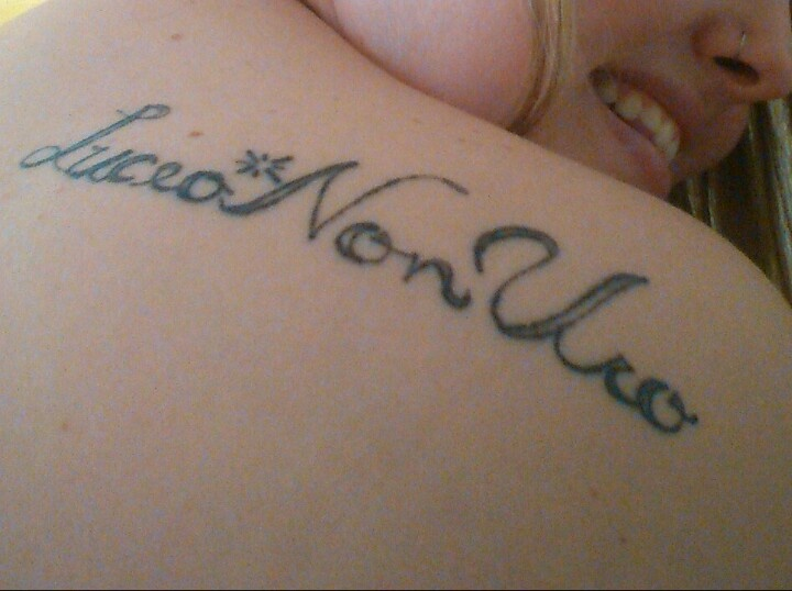 17 best images about ink on pinterest first tattoo my for Family motto tattoos