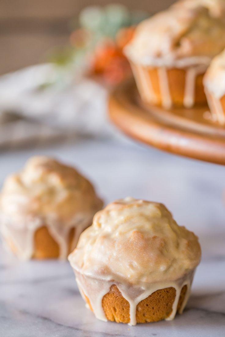 Elegant Maple Glazed Donut Muffins   Lovely Little Kitchen