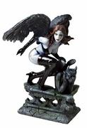 Dark Angel on Gargoyle Handrail Statue $48.50