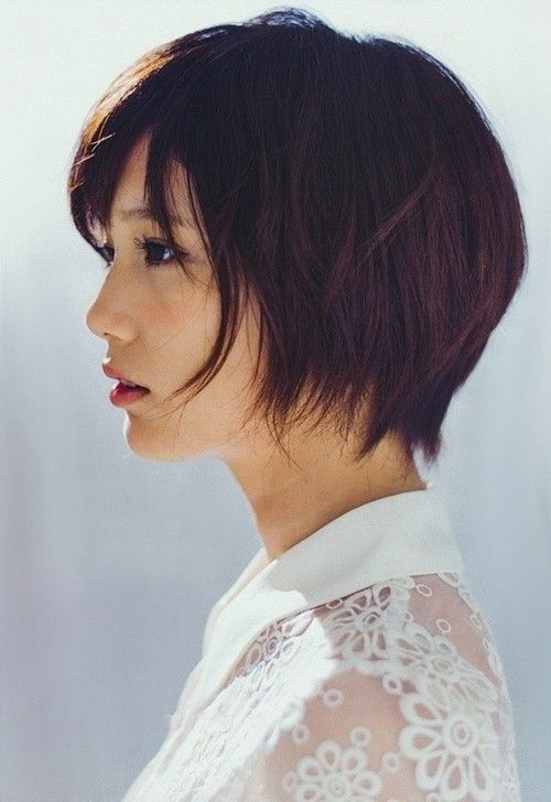 Chic Short Haircut for Summer - Japanese Short Hairstyles--love this! Especially the back!