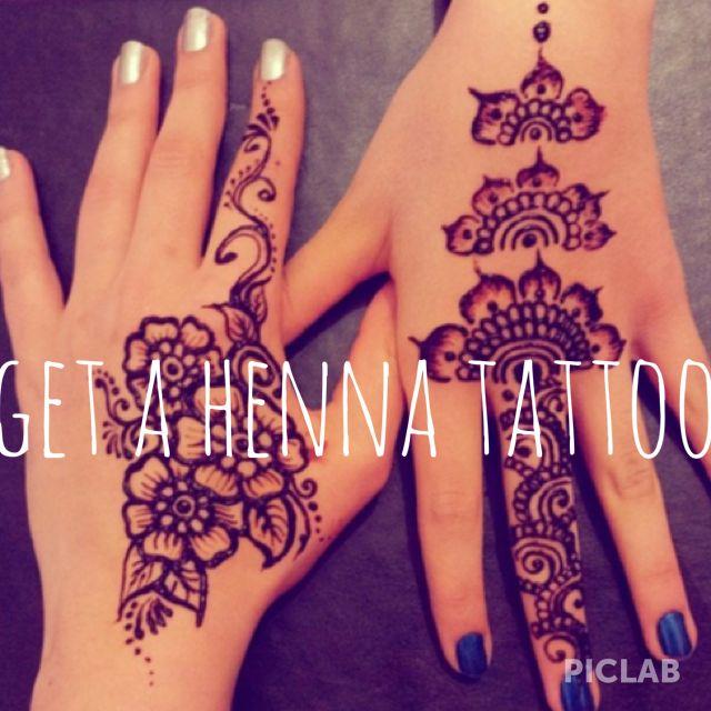 Get a henna tattoo #bucket list