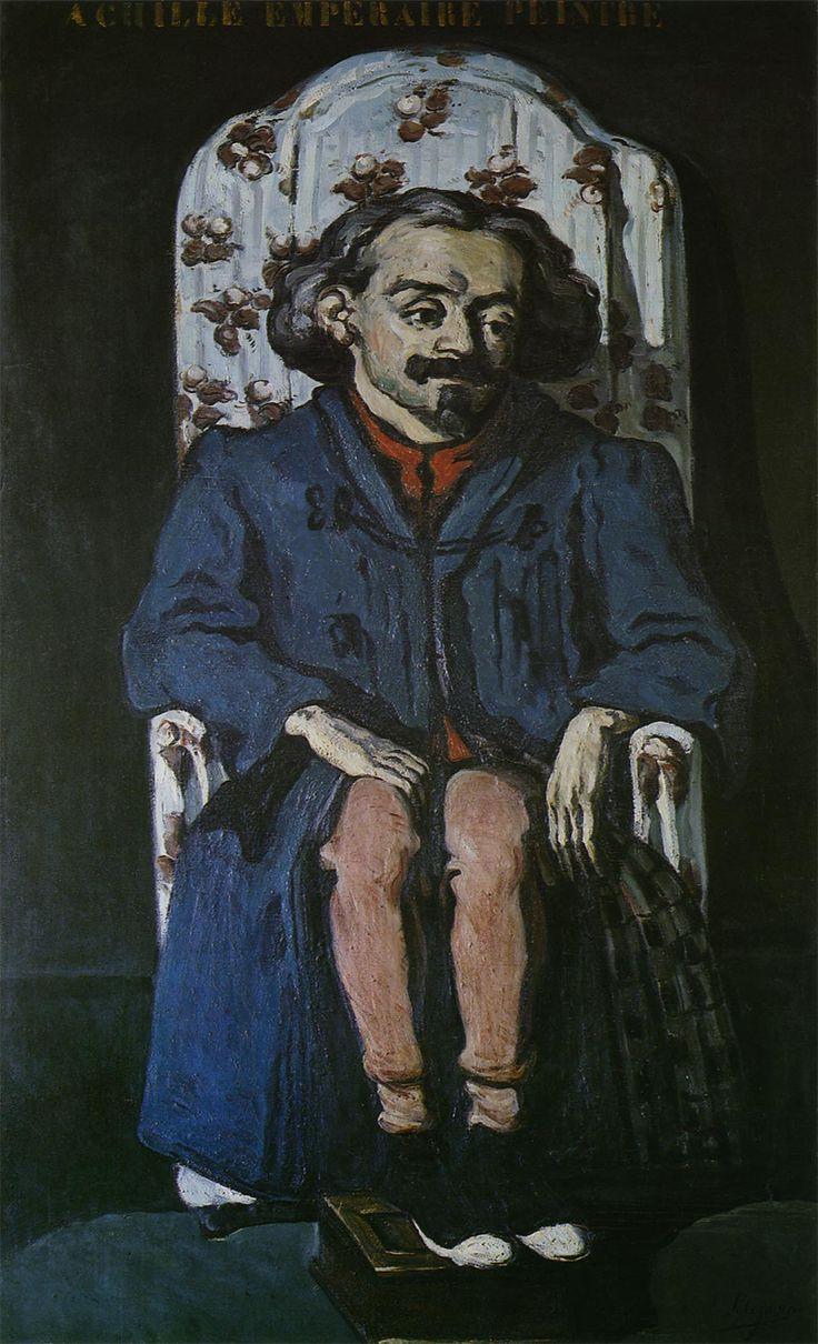 ポール・セザンヌ-水浴の男(両手を腰に当てて立つ男)-