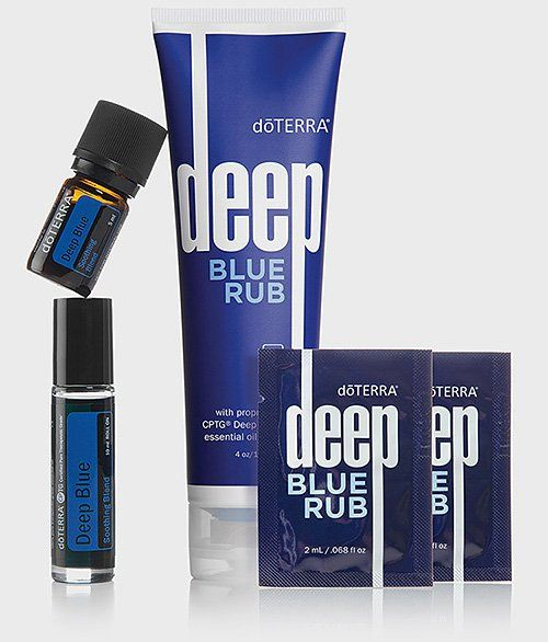 A friend had me try this on my shoulder. I loved it and wanted to remember what it's called. Also loved the sweet after scent. Deep Blue Products