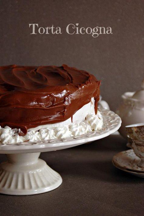 Torta Cicogna | Mamma Papera