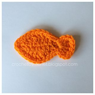 Crochet Fish Pattern ~ free pattern