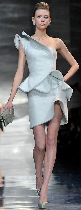 Armani Priv� Haute Couture SS 2010, Paris  | Keep the Glamour | BeStayBeautiful