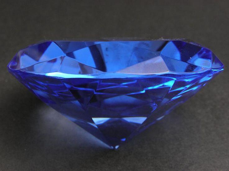 Diament duży - niebieski