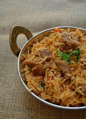 The 25 best goat biryani recipe ideas on pinterest briyani south indian mutton biryani recipe forumfinder Images