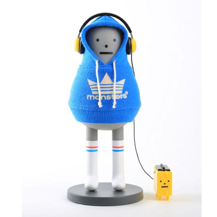 Korea Art Toy Sticky Monster Figure 6in Original (Unopened) S06 KIBON WALKMON #StickyMonsterLab